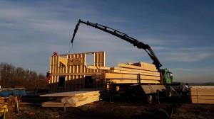 k-Hebearbeiten im Holzbau